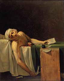 the death of marat a comparison Shop for the death of marat, 1793 by jacques-louis david hand painted oil painting at overstockart enjoy custom framing and free shipping visit for more info & deals.