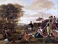 Laban zoekt de door Rachel gestolen Terafim door Jan Steen Museum De Lakenhal S 404.jpg