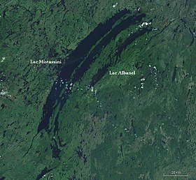 Image illustrative de l'article Lac Mistassini