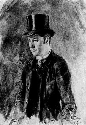 Jules Laforgue - Portrait of Laforgue, 1885