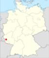 Lage der Verbandsgemeinde Ruwer in Deutschland.png
