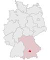 Lage des Landkreises Dachau in Deutschland.png