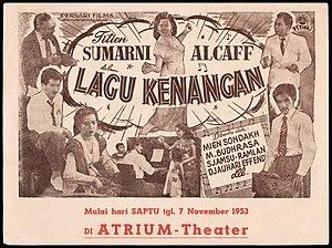 Lagu Kenangan - Promotional flyer