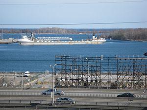 Lake freighter Mississagi in the Eastern Gap -d.jpg