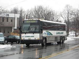 Lakeland Bus Lines - Image: Lakeland MCI