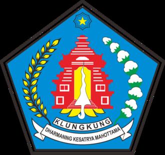 Klungkung Regency - Image: Lambang Kabupaten Klungkung