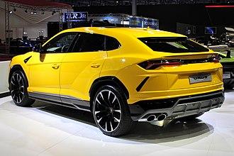 Lamborghini Urus - Lamborghini Urus (rear)