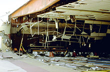 damage to the yucca lanes bowling center from the 1992 quake
