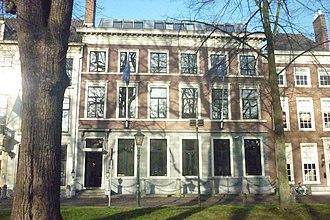 Royal (restaurant) - Image: Lange Voorhout 44 Den Haag