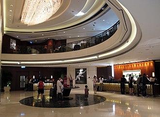 Langham Place (Hong Kong) - Image: Langham Place Hotel Level 3 Lobby 2012