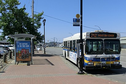 How to get to Langley Centre with public transit - About the place
