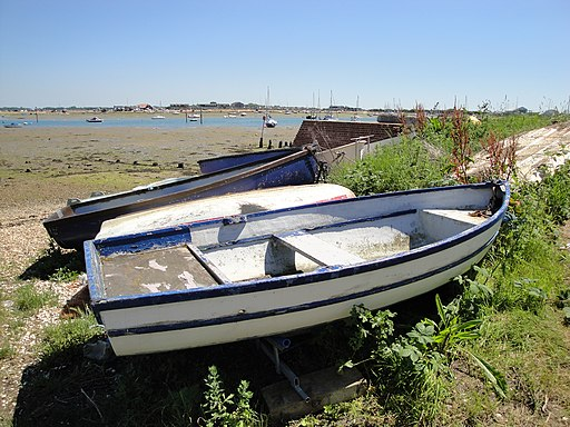 Langstone Harbour boats 4