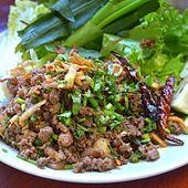 Laab Thai Food