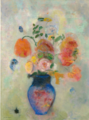 Large Vase with Flowers -Odilon Redon.PNG