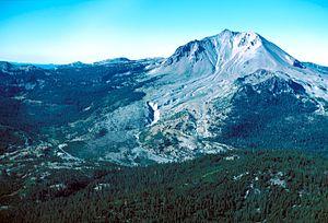 Lassen Volcanic National Park, California. Nor...