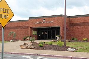 Lassiter High School - Lassiter High School entrance