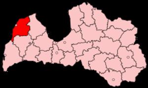 Ventspils District - Image: Latvia Ventspils
