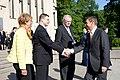 Latvijas Ministru prezidents Valdis Dombrovskis, Lietuvas Ministru prezidents Aļģirds Butkevičs (Algirdas Butkevičius) un Igaunijas premjerministrs Andruss Ansips (Andrus Ansip) apmeklē Baltijas attīstības forumu (8887732405).jpg
