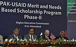 Launch of the Phase II of USAID Merit and Needs Based Scholarship Program (15265485412).jpg