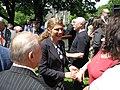Laura Albanese at Queen's Park on Italian Day Flag Raising.jpg