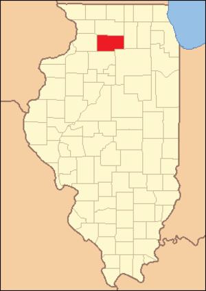 Lee County, Illinois - Image: Lee County Illinois 1839