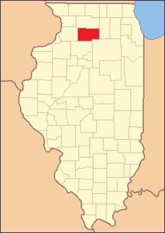 Lee County, Illinois - Image: Lee County Illinois 1839