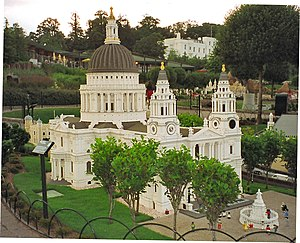 Legoland model of St Paul's Cathedral