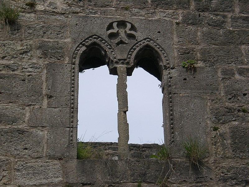 окно замка Теофельс