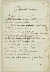 Giacomo Leopardi: Idilli