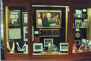 Eugene Levy (politician) -  Museum case inside the Senator Eugene Levy Education Center in Ramapo, New York.