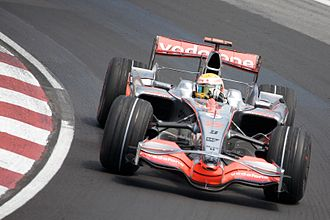 2008 Canadian Grand Prix - Lewis Hamilton took pole position for McLaren.