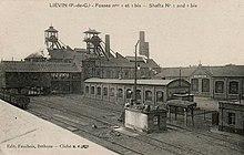 Carte postale ancienne montrant les installations de la - Bassin recreatif ancienne lorette calais ...