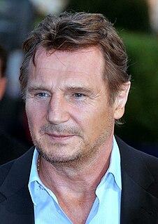 Liam Neeson Irish actor from Northern Ireland