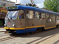 Liberec, Žitavská, tramvaj 66 na lince 3.jpg