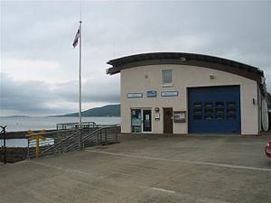 Tighnabruaich - Image: Lifeboat Station, Tighnabruaich