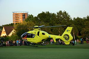 Emergency medical services in the Netherlands - Air ambulance in Amersfoort
