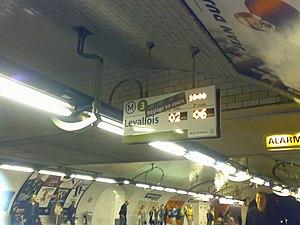 République (Paris Métro) - Image: Ligne 3 République