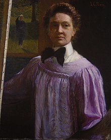 Lilla Cabot Perry, Self-portrait, 1889-1896, Terra Foundation for American Art.jpg