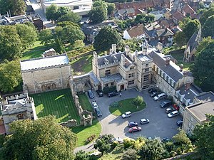 Lincoln Medieval Bishop's Palace - Image: Lincoln Cathedral, Lincoln geograph.org.uk 1519114