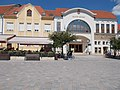 Listed building and the Balaton Theatre in Keszthely, 2016 Hungary.jpg