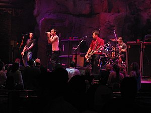 Lit (band) - Lit performing at Mohegan Sun in Connecticut in 2005