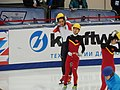 Liu Shaolin Sándor and Han Tianyu.JPG
