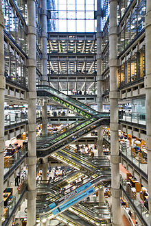 Lloyd 39 s building wikipedia for Lloyds architecture planning interiors