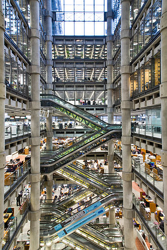Lloyd's building - Inside the Lloyd's building