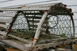 Lobster trap - Image: Lobster trap