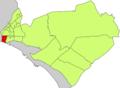 Localització de Foners respecte del Districte de Llevant.png