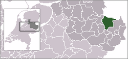 Location of توبرگن