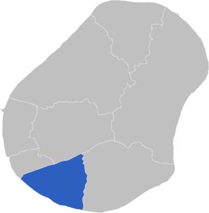 Yaren Constituency - Image: Locatie Constituency Yaren
