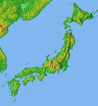 Tōhoku Expressway - Image: Location Tohoku Expway Jp