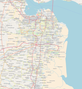 2018 Surabaya bombings is located in Surabaya